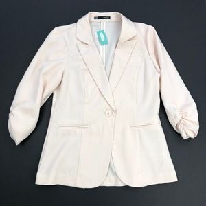 Maurices | Blush Pink One Button Blazer NEW
